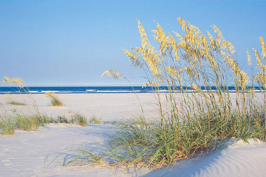 Beautiful beaches at Wrightsville Beach